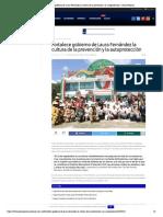 Fortalece gobierno de Laura Fernández la cultura de la prevención y la autoprotección – Palco Noticias