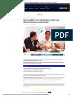 Genera el turismo bienestar, progreso y desarrollo_ Laura Fernández – Palco Noticias