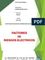FACTORES RIESGOS ELECTRICOS