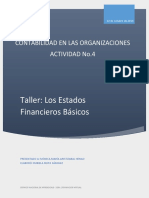 Taller Estados Financieros Básicos