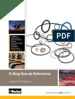 O-Ring Guía de Referencia Parker