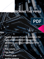 Dimensioning the Pipes Final