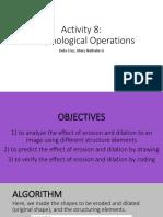 Morphological Operations