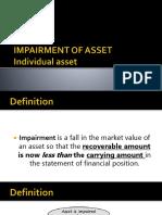 Impairment of Asset Acctg 211