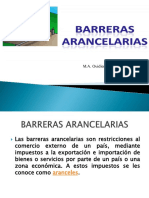 BARRERAS ARANCELARIAS 1