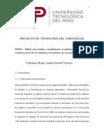 Proyecto de Tecnologia Del Aprendizaje