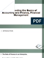Understanding the Basics of Accounting and Finance