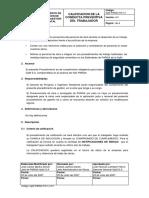 Calificacion de La Conducta Preventiva Del Trabajador