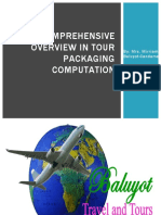 Comprehensive Overview in Tour Packaging Computation