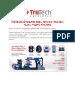 Flexo Ruling Machine 2
