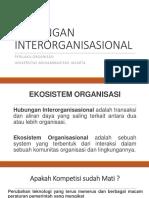 Hubungan Interorganisasional