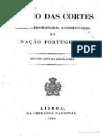 Diario Das Cortes Da Nação Portugueza 1822