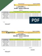 Lesson Plan Checklist