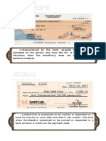Kinds of cheques