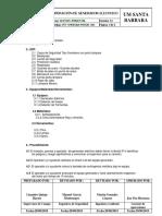 PET-SMEBSAA-PHISAC-001 Operacion de Generador Electrico