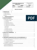 PC13-PR10 Programa Para La Intervención de Emergencias Obra Quibdo