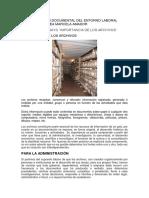 Administracion Documental Del Entorno Laboral Aprendiz