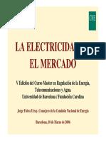 LA ELECTRICIDAD EN EL MERCADO