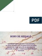 Bono Regalo Reducción