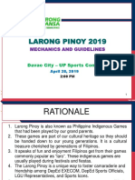 Larong Pinoy Mechanics and Guidelines as of April 2 2019 1