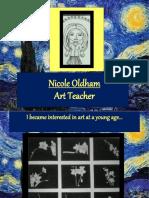Nicole Oldham - Art Teacher
