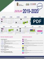 calendario 2020  tesoem