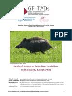 HANDBOOK  OF AFRICAN SWINE FEVER IN WILD BOAR