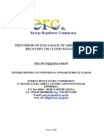 26 2 2019 Rfp-data Back-up Disaster Recovery-february 2019-Final