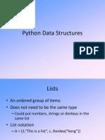 GF Python Data Structures