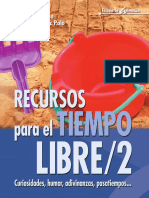 Moreno, Eusebio - Recursos Para El Tiempo Libre 2