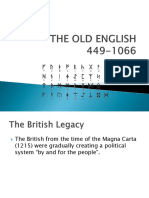 THE OLD ENGLISH