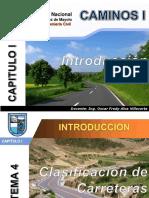 Cap I_Tema 04_Clasificación de Carreteras