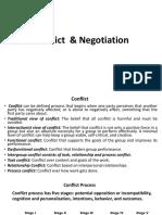 Conflict & Negotation