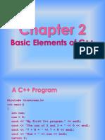 2 basic elements of c++