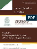 Unidad 7 de La prosperidad a la Crisis del 29