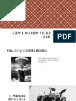 Unidad 8 McCarthy y el Red Scare - Andrés Castaño