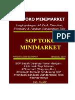 SOP Toko Minimarket Lengkap Dengan Flowchart dan Formulir