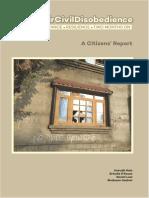 Kashmir Civil Disobedience - A Citizens Report