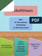 Slide Vesikolithiasis