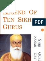 The  Legend  Of  Ten  Sikh  Gurus.pptx