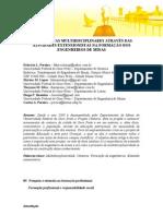 Cantaria - Perspectivas MultidisciplinaresAtravés das Atividades Extensionistas na formação dos Engenheiros de Minas