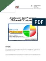 CDBurnerXP German Guide