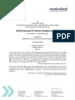 15 2018 G7 Interim Compliance Charter