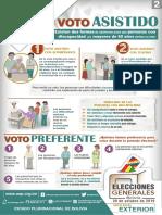 Afiche Voto Asistido y Preferente Exterior (19-08)
