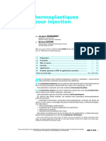 Polyesters Thermoplastiques PET Et PBT Pour Injection