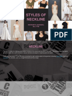 Styles of Neckline (1)
