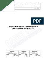 PE-03-004 82 Instalacion de Postes