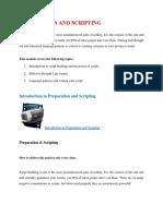Sales Preparation and Scripting