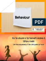 waitemata behaviour presentation
