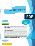 Educational Management & Supervision